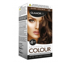 DARK BROWN HAIR DYE