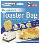 SEALAPACK TOASTER BAGS- 2 PACK