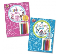 Colouring Book with Pencils (0 VAT)