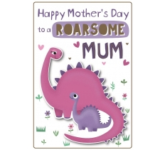 MOTHERS DAY ROARSOME MUM POPPET