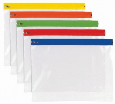 Tiger A4+ Polythene Zip Bag