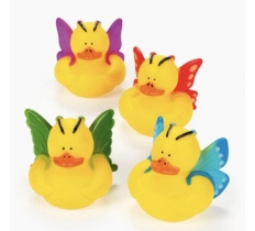 BUTTERFLY RUBBER DUCK