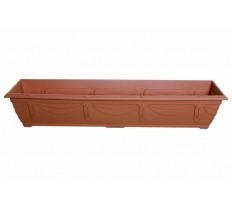 90cm Venetian Window Box - T/Cotta