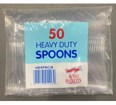 Heavy Duty Plastic Disposable Spoons
