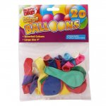 Large Round Balloons 20 Pack