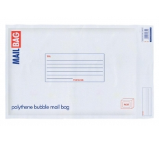 Polythene Bubble Bags 290 x 440mm Large 10 Pack