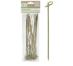 ECO CONNECTION 30PACK 25CM TOP KNOT BAMBOO SKEWER