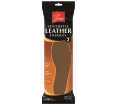 SYNTHETIC LEATHER INSOLES 2 PACK