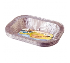 OBLONG FOIL PIE DISHES 6 PACK