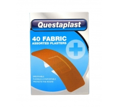 QUETSAPLAST FABRIC PLASTER PACK OF 40