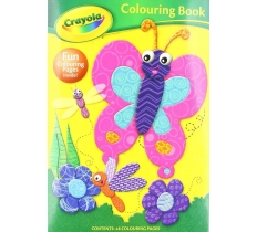 CRAYOLA BUTTERFLY COLOURING BOOK