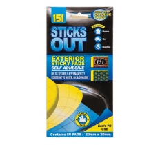 BLUE EXTERIOR STICKY PADS 80 PACK
