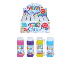 BUBBLES MAGIC WITH WAND 60ML X 24 ( 15p Each )