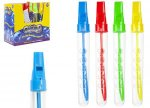 "7.5"" FLUTE BUBBLE WAND 48PCS IN DISPLAY BOX"