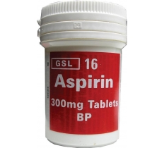 ASPIRIN TUB 16 X 12 Pack