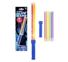 GLOW STICK WAND 7PC SET