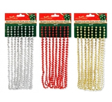 12FT 7MM BEADED GARLAND