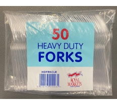Heavy Duty Plastic Disposable Forks