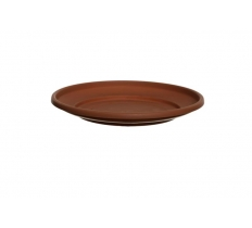 WHITEFURZE 20CM SAUCER TERRACOTTA FOR 24CM PLANTER