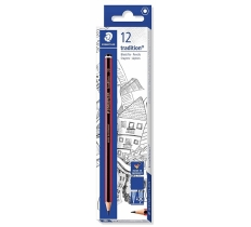 Staedtler DEG Tradition Pencils 2B x 12 pack ( 31p each )