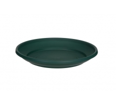 WHITEFURZE 20CM SAUCER FOREST GREEN FOR 24CM PLANTER