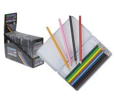 Adult Colour Therapy Colouring Pencils 10 Pack in Tin Box