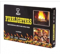 Big K BBQ Firelighters 14 Sticks