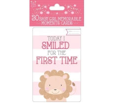 BABY MOMENT CARDS GIRL