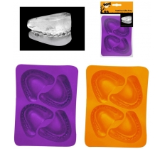 TEETH ICE CUBE TRAY 2 ASSORTED COLOURS