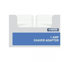 STATUS 1AMP SHAVER ADAPTOR IN TRAY