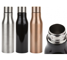 500ML BRUSHED STAINLESS STEEL VACUUM INSULATED BOTTLE
