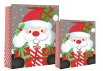 LARGE FOAM SANTA GIFTBAG