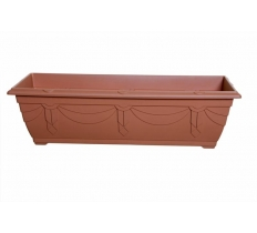 60cm Venetian Window Box - T/Cotta