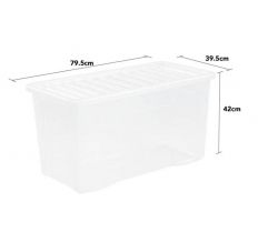 WHAM CRYSTAL 110L BOX AND LID