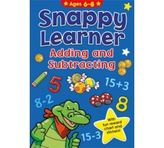 Snappy Learner (6-8) - Add & Subtract