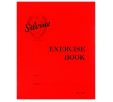 SILVINE EXERCISE BOOK 203MM X 165MM 7MM SQUARES 40 PAGES