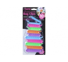 10 PIECE 2 ASSORTED SIZE BAG CLIPS