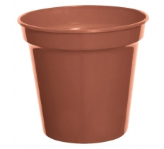 "WHITEFURZE 17.5CM 7"" POT TERRACOTTA"