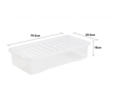 Crystal 42L Underbed Box and Lid