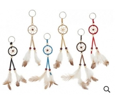 NATURAL DREAM CATCHER KEYRING