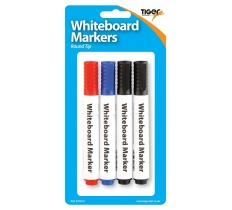 Large Whiteboard Markers 4 Pack