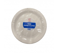 "ROYAL MARKETS 9"" PAPER PLATES 100 PACK"