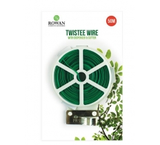 TWISTEE GARDEN WIRE 50M
