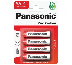 PANASONIC AA BATTERIES 4 PACK X 12