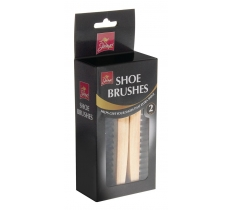 SHOE BRUSH 2 PACK