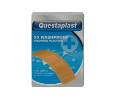 QUESTAPLAST ASSORTED WASHPROOF PLASTERS 50PACK