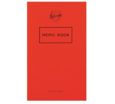 SILVINE LINED MEMO BOOK 158 x 99MM 72 PAGES