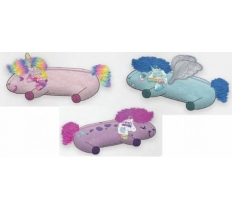 Unicorn fluffy shaped pencilcase