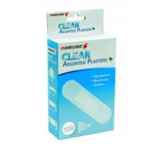 Assorted Clear Plasters 100pk