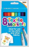Deluxe Textile Marker 8 Pack